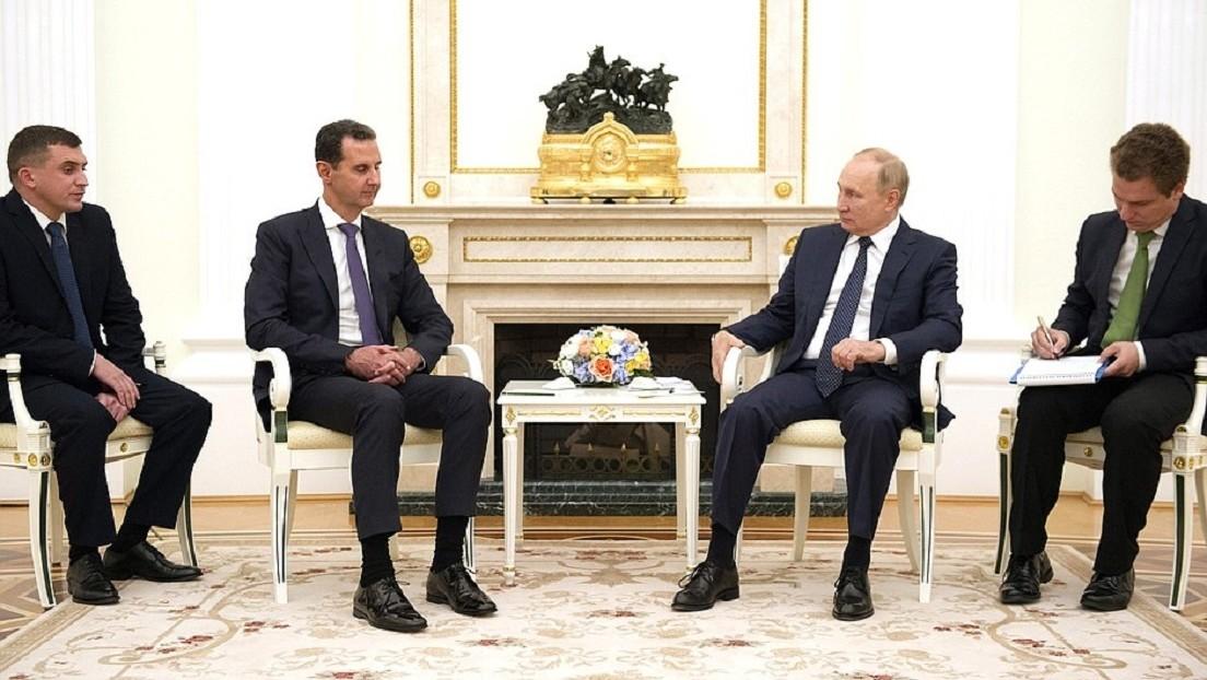 """Putin afirma que """"el mayor problema"""" de Siria es la presencia de tropas extranjeras sin autorización de la ONU ni de Damasco"""