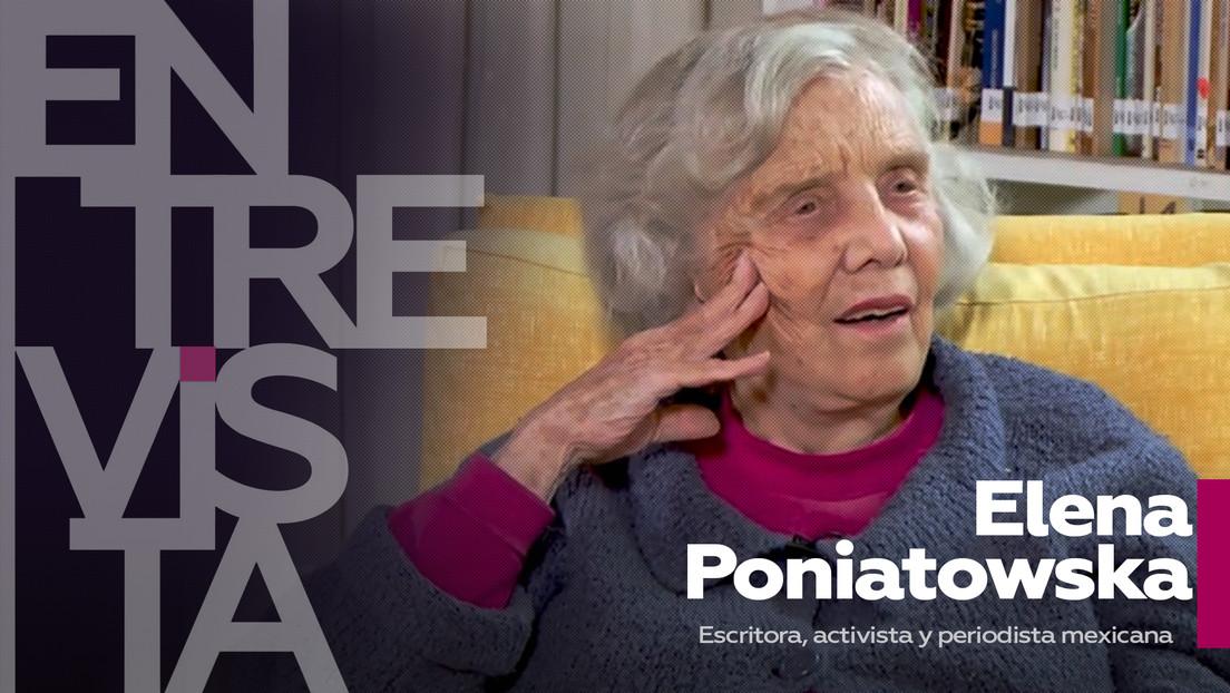 """Elena Poniatowska, escritora, activista y periodista mexicana: """"La inteligencia no tiene sexo: no es ni femenina ni masculina"""""""