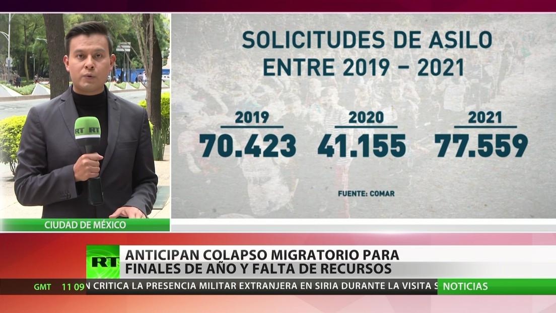 México: Advierten de un colapso migratorio para finales de año a falta de recursos