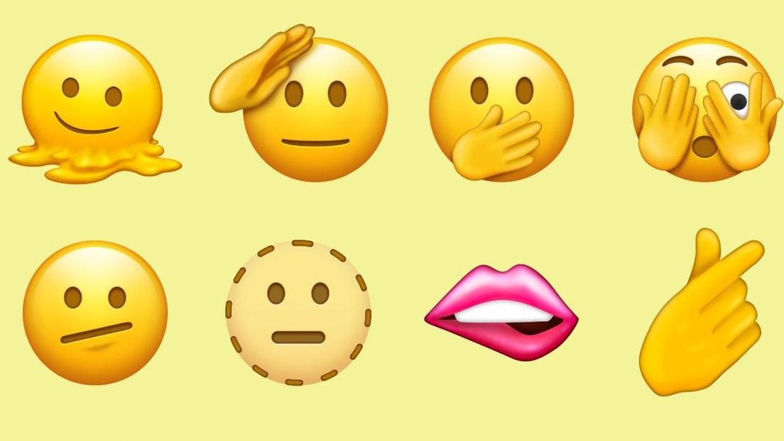 Troles, hombres embarazados y una cara derretida: presentan los nuevos 'emojis' de Unicode 14.0