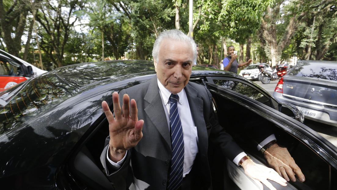 Graban al expresidente Michel Temer riéndose de una imitación de Bolsonaro y el video se hace viral