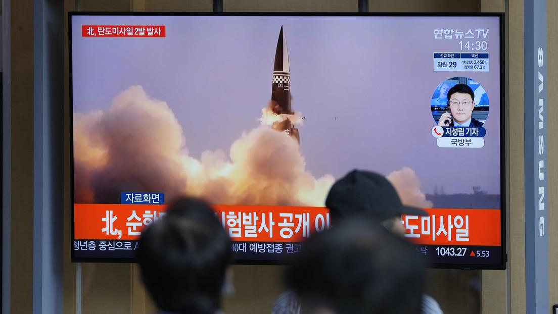 Corea del Sur realiza con éxito un lanzamiento de prueba de un misil balístico desde un submarino en inmersión