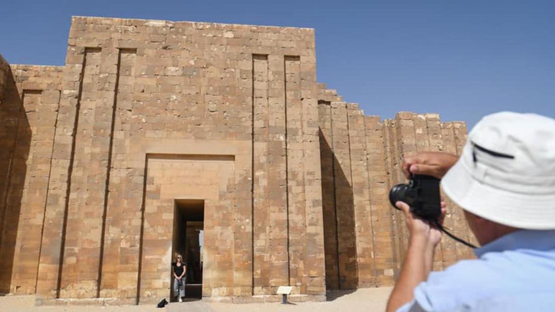 Egipto reabre al público una antigua tumba de un faraón tras más de una década de restauración