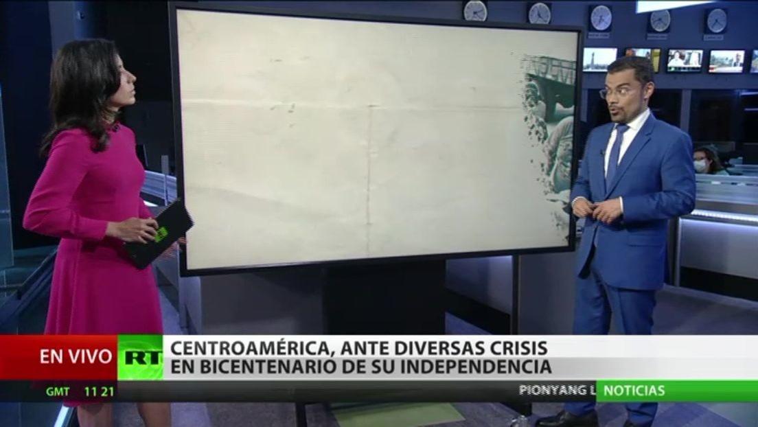 Centroamérica, inmersa en diversas crisis en el bicentenario de su independencia