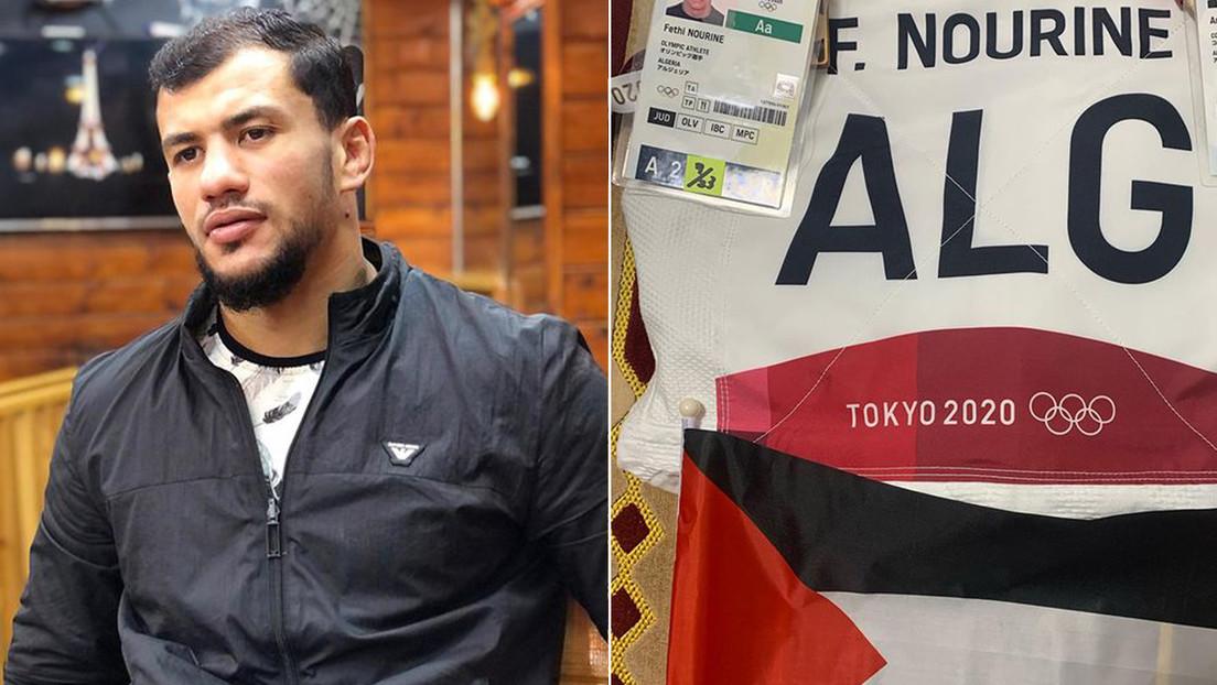 Suspenden por 10 años al judoca argelino que se negó a pelear con un israelí en los Juegos Olímpicos de Tokio