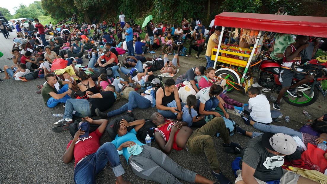 La Policía mexicana localiza a 22 migrantes que habían sido secuestrados en un motel