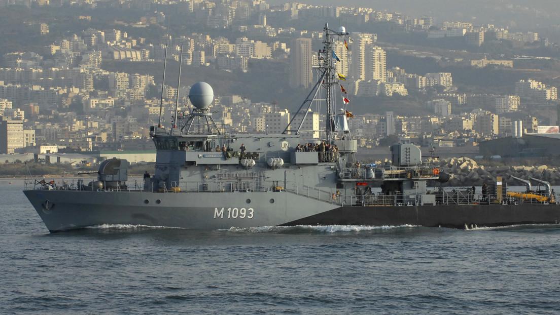 China niega el permiso para que una fragata alemana haga una escala en su puerto