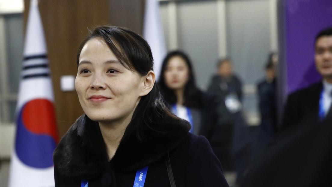 """La hermana de Kim Jong-un sobre el lanzamiento de misiles: """"Lo que estamos haciendo ahora es un acto de autodefensa normal"""""""