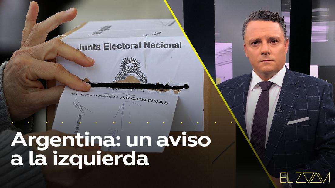 Argentina: un aviso a la izquierda