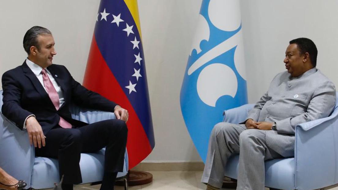 """Venezuela pide a la OPEP+ adoptar mecanismos que permitan enfrentar """"las agresiones de EE.UU."""" impuestas a través de sanciones"""