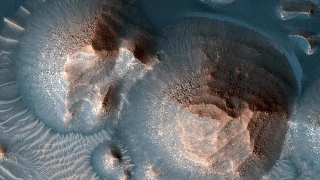 La NASA confirma miles de 'súper erupciones' volcánicas ocurridas en Marte hace unos 4.000 millones de años