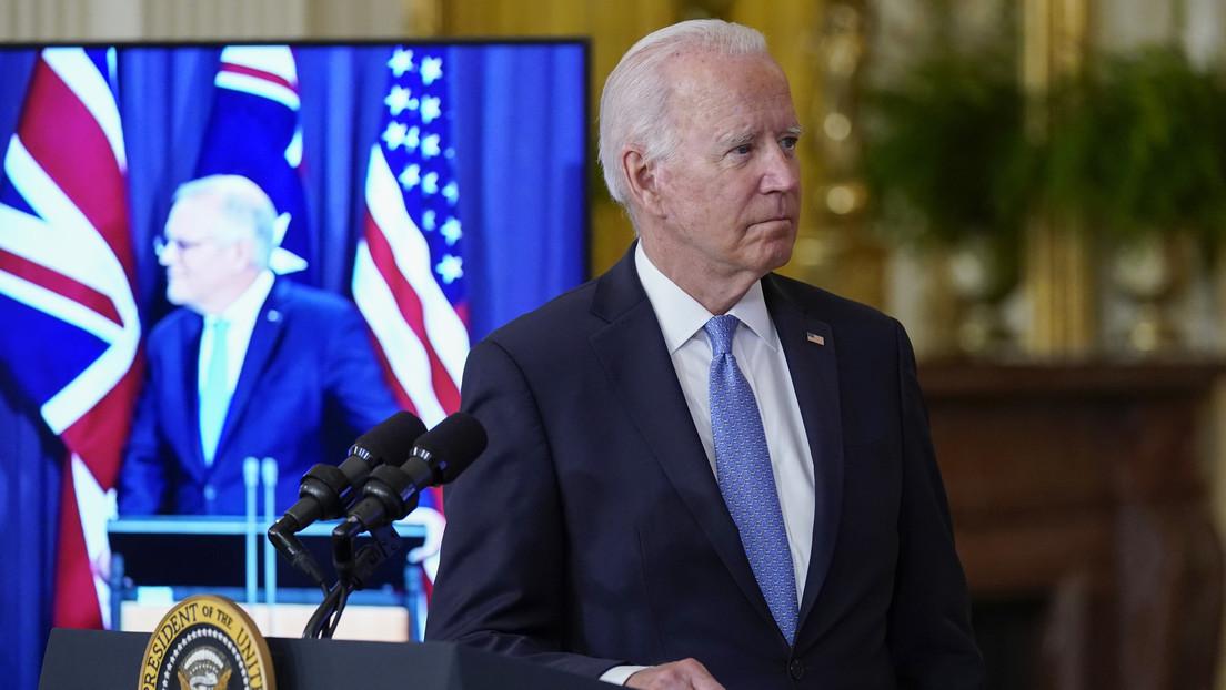 Biden parece olvidar el nombre del primer ministro de Australia en el anuncio de la alianza de seguridad (VIDEO)