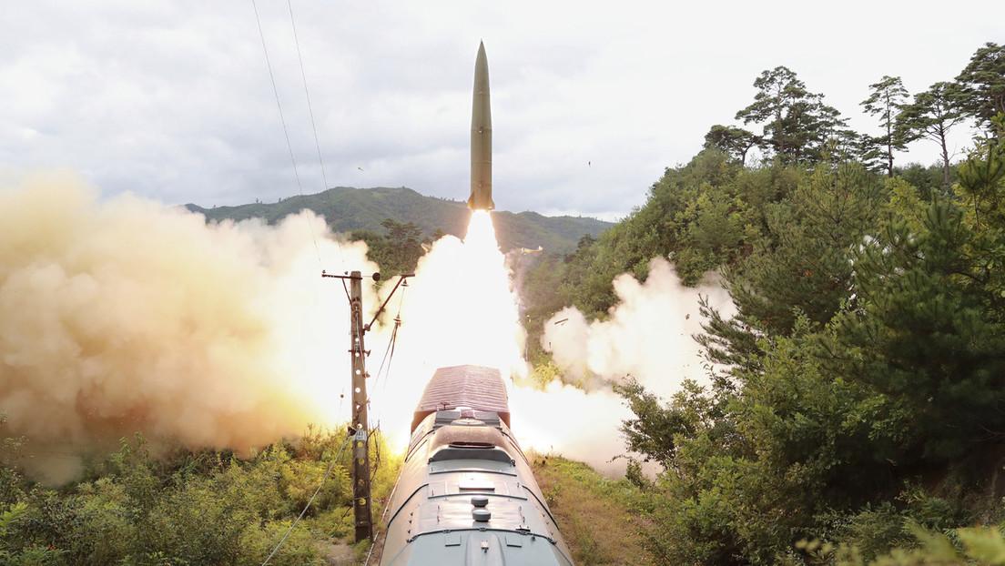 """Corea del Norte confirma que probó exitosamente un nuevo """"sistema de misiles sobre raíles"""" (FOTOS)"""