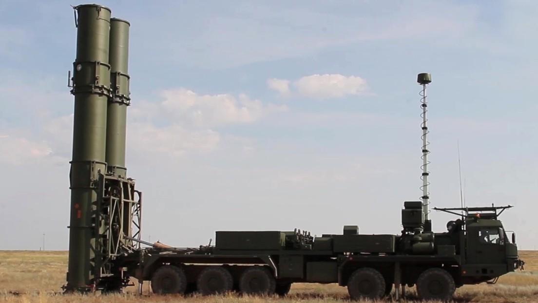 Rusia completa las pruebas del sistema de misiles S-500 Prometéi