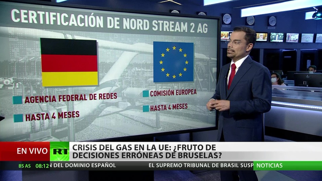 Crisis del gas en la UE: ¿fruto de decisiones equivocadas de Bruselas?