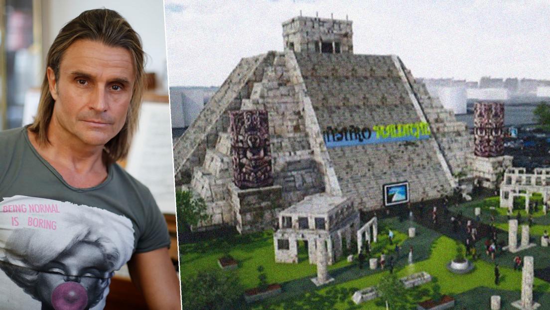 La pirámide azteca del cantante Nacho Cano en Madrid (y las prioridades que no aprendimos en pandemia)