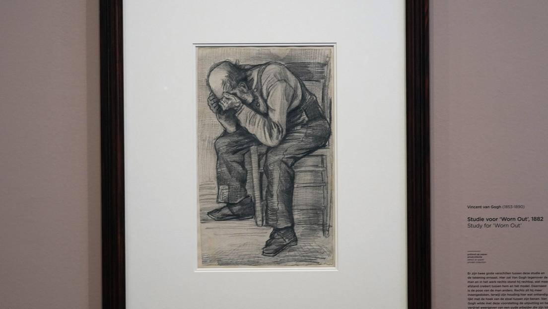 Descubren un dibujo a lápiz de 1882 atribuido a Vincent Van Gogh
