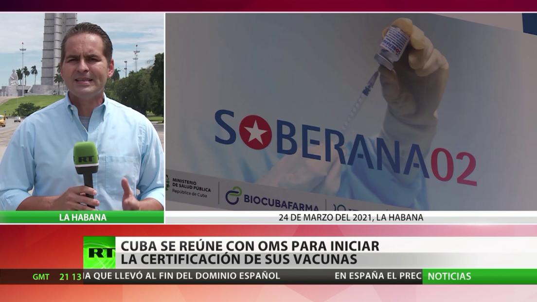 Cuba se reúne con la OMS para iniciar la certificación de sus vacunas