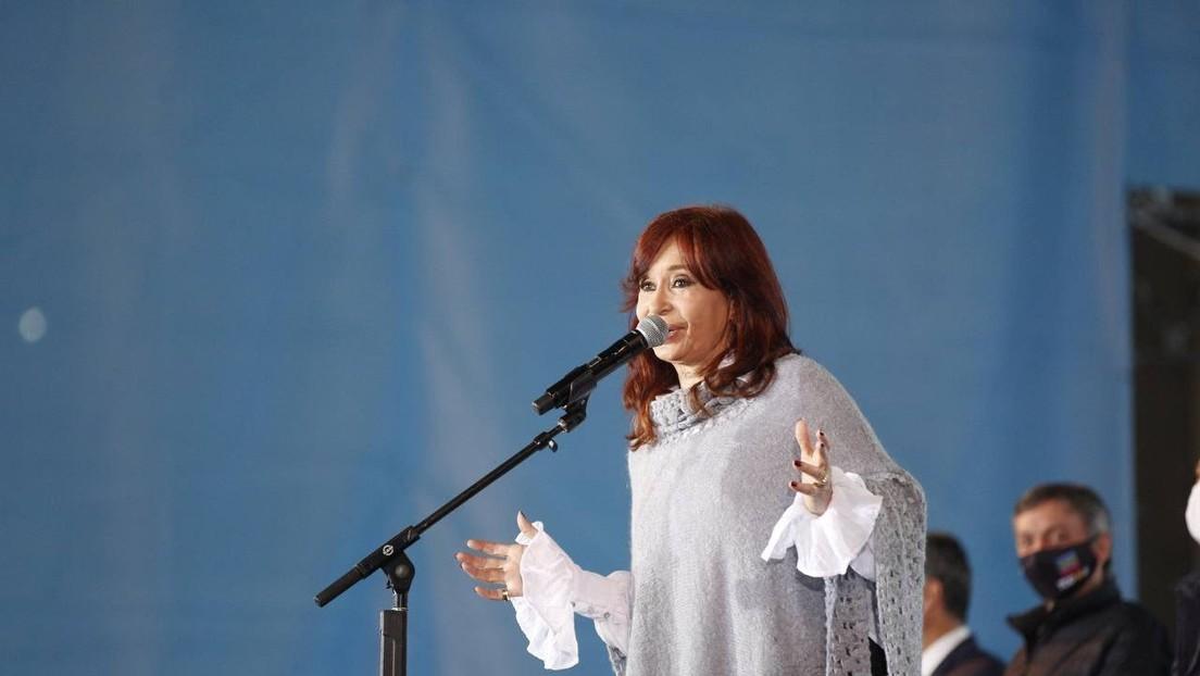 """Cristina Fernández de Kirchner: """"No soy yo la que está jaqueando al presidente, es el resultado de la elección"""""""