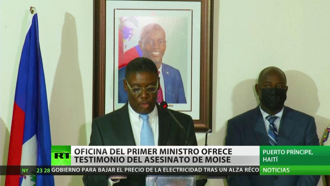 Oficina del primer ministro haitiano brinda testimonio sobre el asesinato de Jovenel Moïse