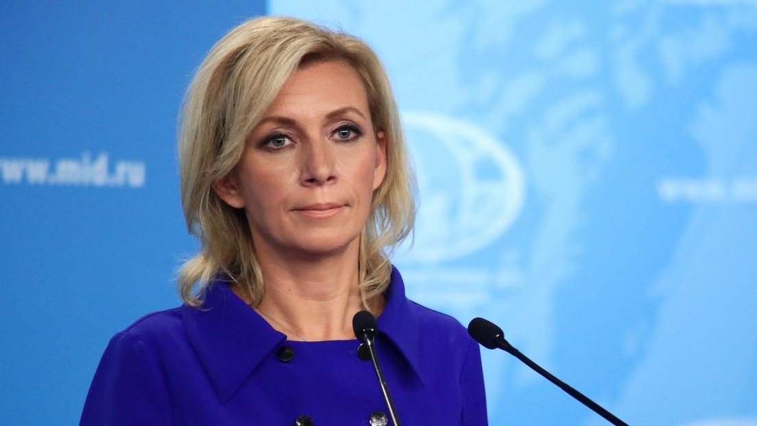 Zajárova le recuerda a Francia el contrato de los buques Mistral que canceló en 2015 con Moscú tras sus críticas a Australia por una decisión similar