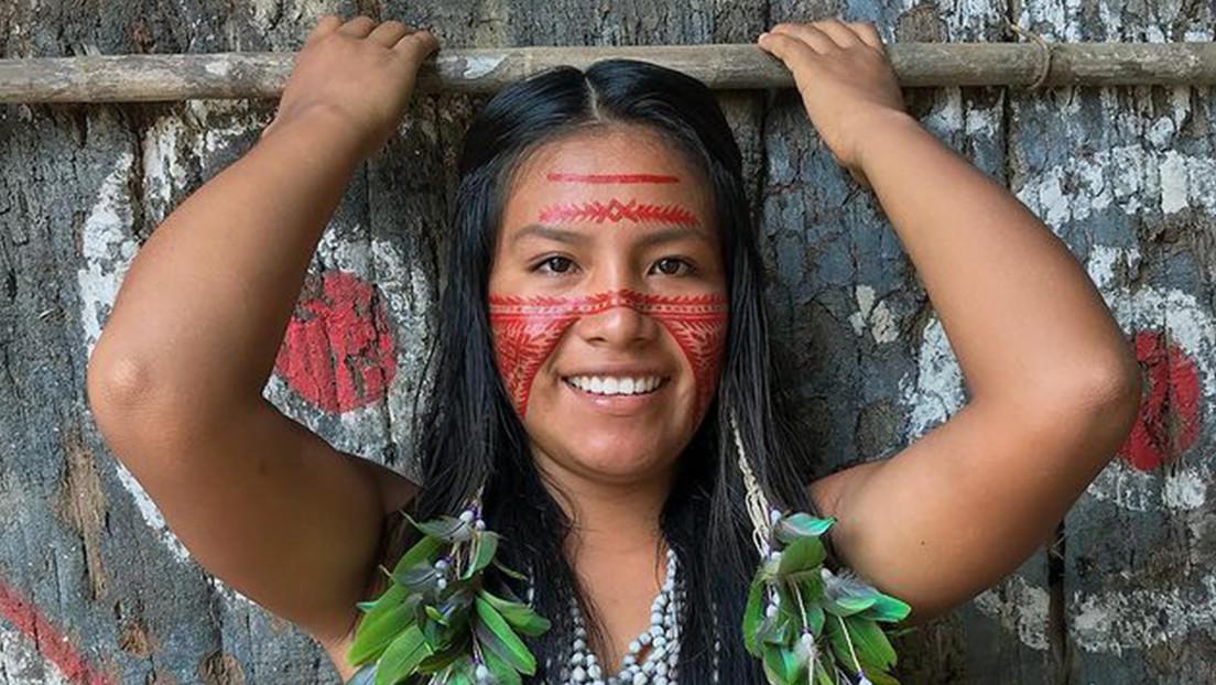Cunhaporanga, la indígena brasileña que arrasa en TikTok mostrando las costumbres de su comunidad