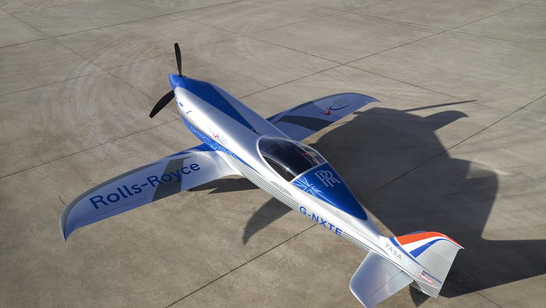 Rolls-Royce termina con éxito el vuelo de prueba de su primer avión completamente eléctrico (VIDEO)