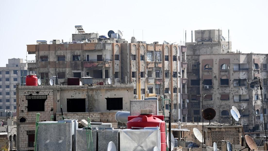 Damasco sufre un apagón masivo tras un ataque a un gasoducto