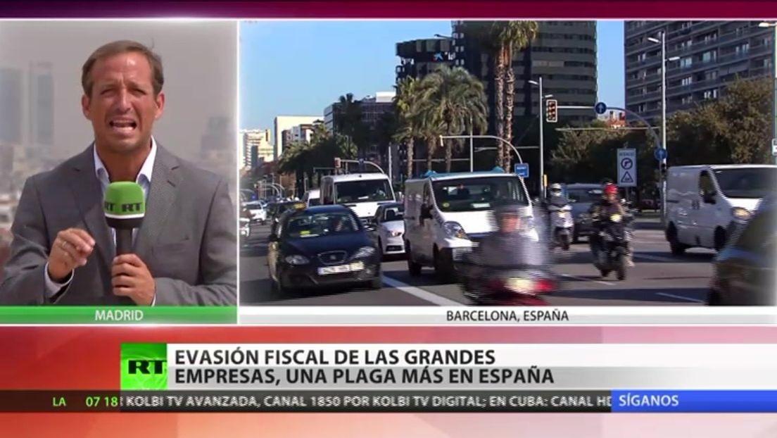 La evasión fiscal de las grandes empresas, una plaga en España