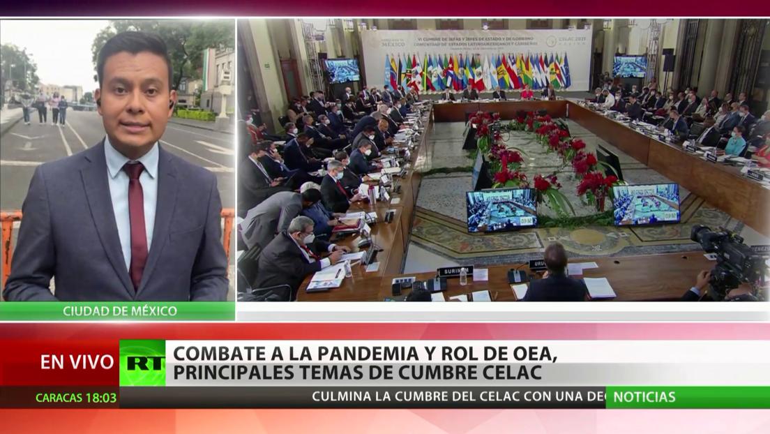 Culmina la sexta cumbre de la Celac con declaraciones para impulsar la recuperación de la región tras la pandemia