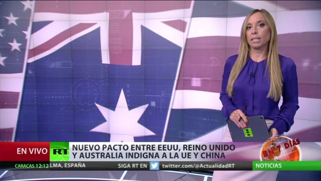 El nuevo pacto entre EE.UU., Reino Unido y Australia indigna a la UE y a China