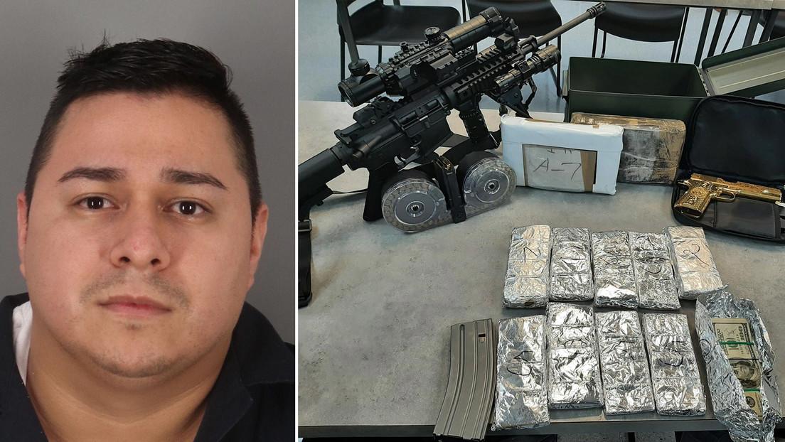 """Confiscan dos kilos de cocaína, 44.000 dólares, un rifle y una pistola chapada en oro tras una parada de tráfico rutinaria de un hombre """"nervioso"""""""