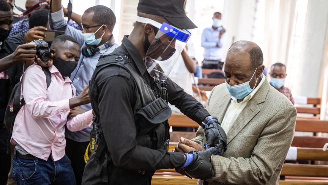 Condenan a 25 años de prisión al hombre que inspiró la película 'Hotel Ruanda' por cargos relacionados con el terrorismo