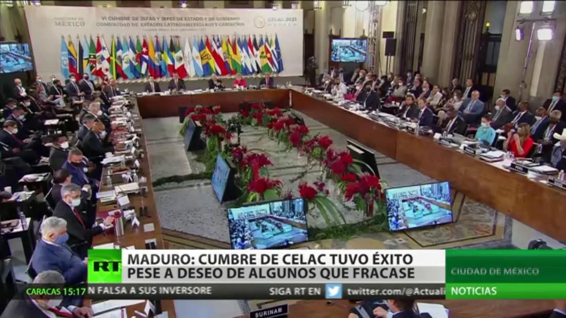 Nicolás Maduro califica como exitosa la sexta cumbre de la CELAC