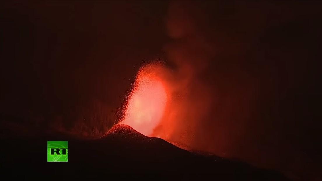 EN VIVO: Continúa la erupción volcánica y se registra un nuevo sismo en la isla española de La Palma