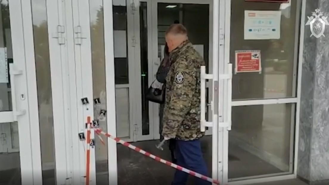 Día de luto en la región rusa de Perm tras el tiroteo en la universidad que dejó 6 muertos y más de 20 heridos