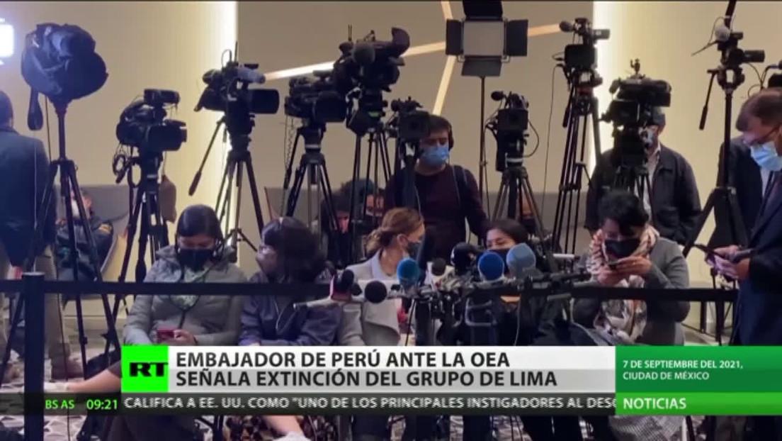 """Embajador de Perú ante la OEA: """"El Grupo de Lima ya cumplió su ciclo"""""""