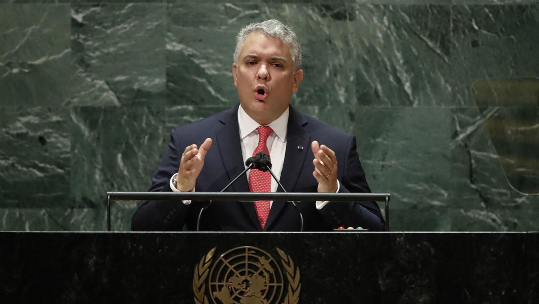 Duque aprovecha la Asamblea General de la ONU para arremeter contra el diálogo entre el Gobierno de Venezuela y la oposición