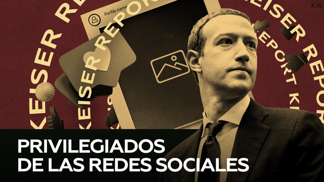 """""""La élite, los ricos y los famosos disfrutan de otro nivel de justicia en Facebook"""""""