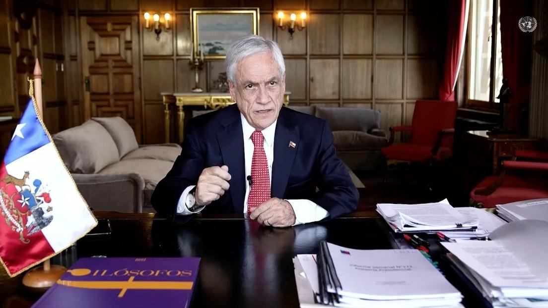 """""""La peste de la fragmentación política"""": Piñera dice ante la ONU que en América Latina hay otras enfermedades """"igual de tóxicas"""" que el coronavirus"""