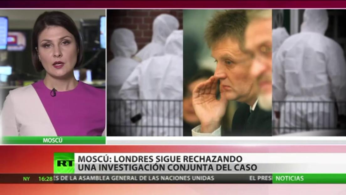 Rusia rechaza las nuevas acusaciones del Reino Unido sobre su presunta implicación en el caso Skripal