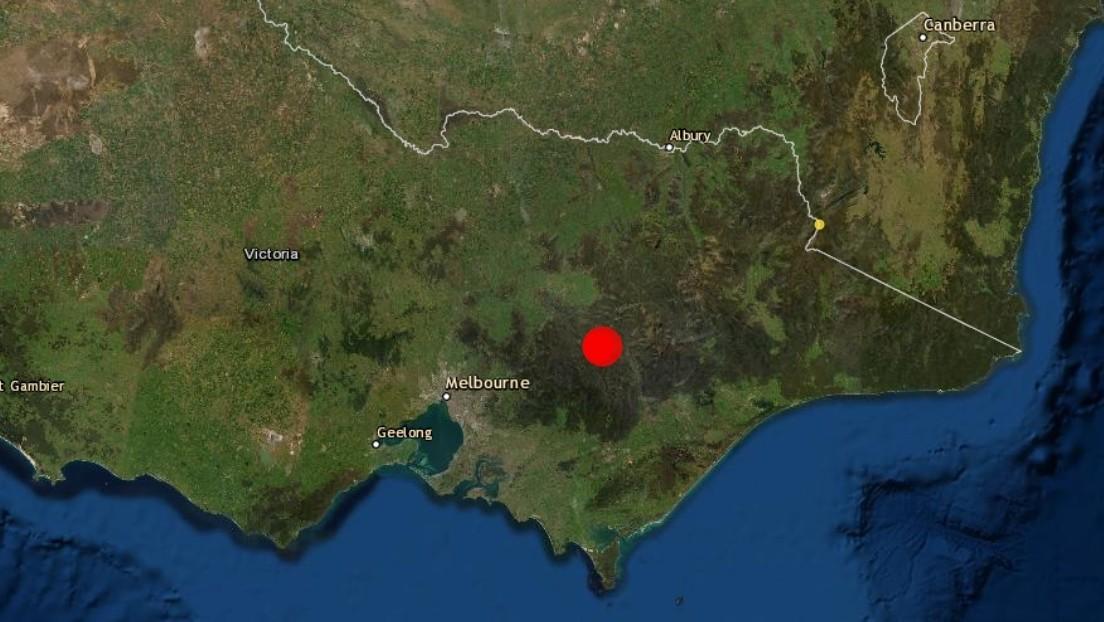 Las primeras imágenes de la destrucción dejada por el terremoto de 5,8 en Australia