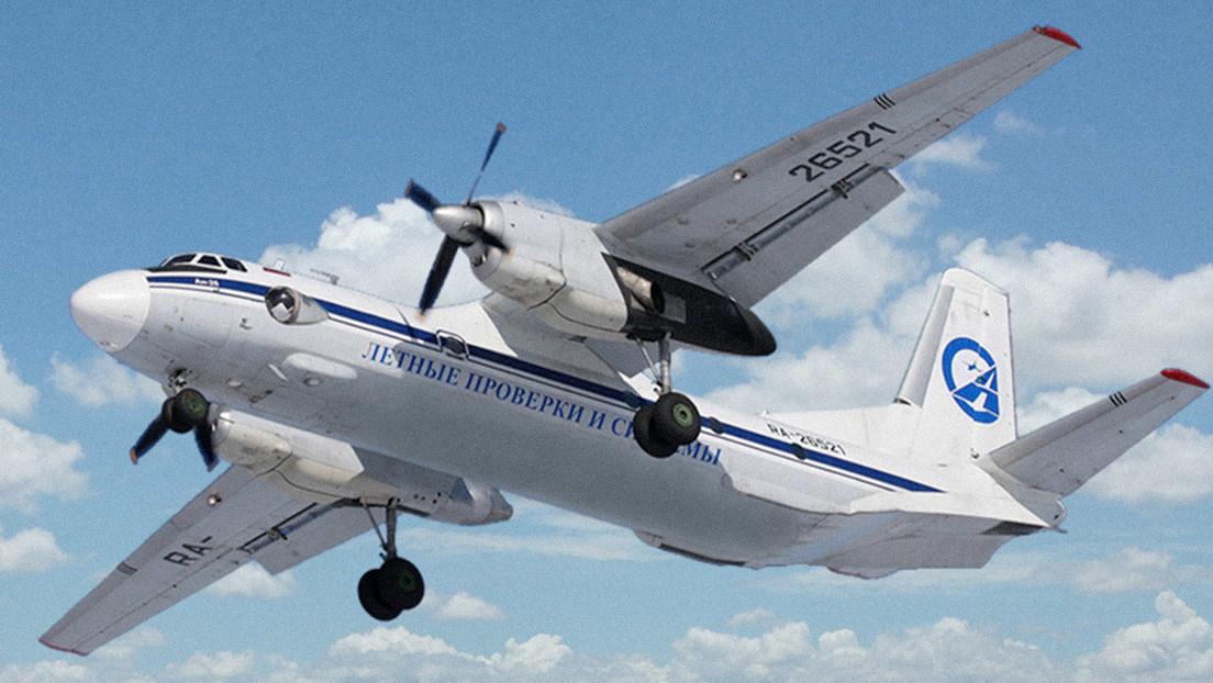 Un avión militar An-26 con seis personas a bordo desaparece de los radares cerca de la ciudad rusa de Jabárovsk