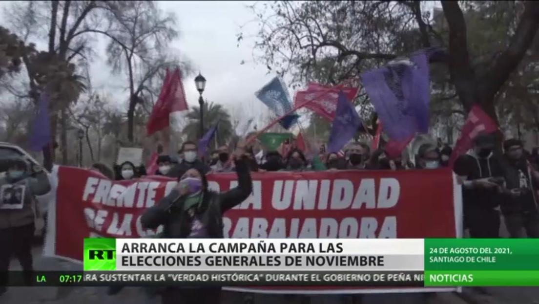 Arranca la campaña electoral de cara a las elecciones generales en Chile
