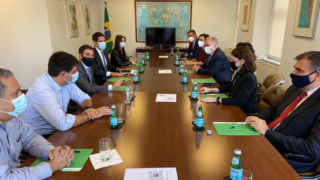 Las autoridades brasileñas recomiendan cuarentena para Bolsonaro y la comitiva que fue a la ONU tras el positivo del ministro de Salud