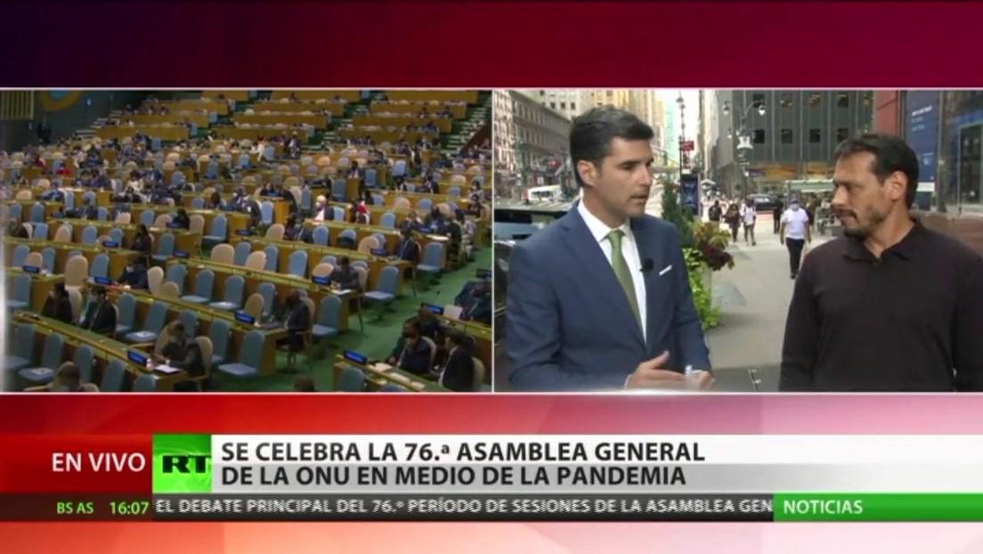 Experto analiza el primer día de la 76.ª sesión de la Asamblea General de la ONU