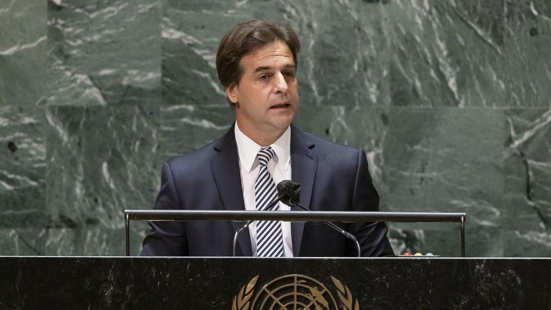 """Luis Lacalle Pou defiende ante la Asamblea General de la ONU el uso de las """"libertades individuales"""" para atravesar la pandemia"""