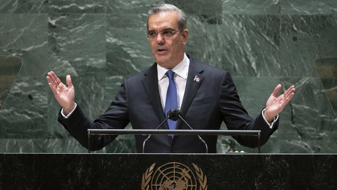 """Luis Abinader llama ante la ONU a """"avanzar con firmeza hacia un estado de bienestar renovado y más equitativo"""""""