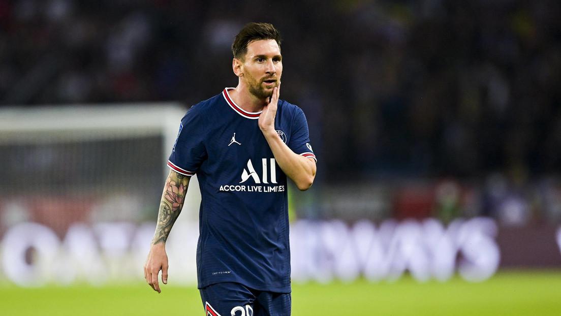 Video inédito del incidente que lesionó a Messi y lo sacó de la cancha