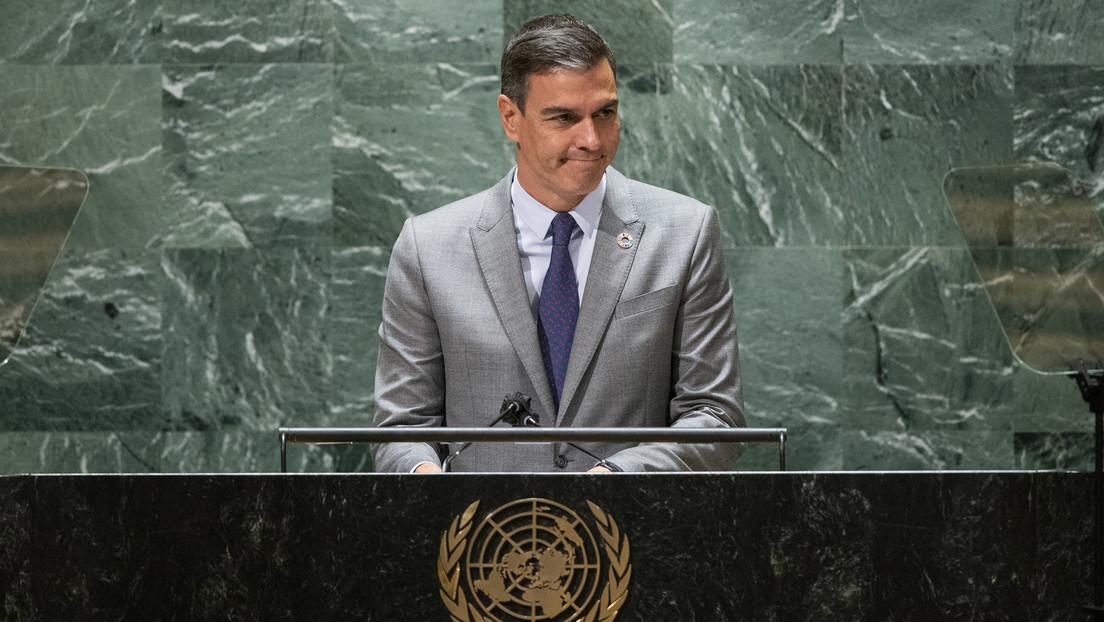 """""""La naturaleza una vez más nos recuerda la medida de nuestra fragilidad y fortaleza"""": Sánchez comenta ante la ONU la erupción del volcán en La Palma"""